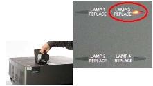 Проекторы для цифровых кинозалов EIKI LC-HDT2000 (без объектива) - компания Vega